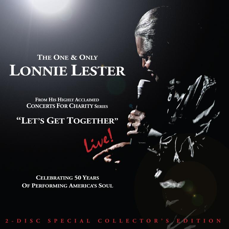 Lonnie Lester Lets Get Together live cd